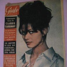 Coleccionismo de Revista Garbo: REVISTA GARBO. Nº 542. 3 AGOSTO 1963.. Lote 118032247