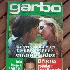 Coleccionismo de Revista Garbo: GARBO / GEORGES MOUSTAKI, MIGUEL RIOS, JULIO IGLESIAS, ROCIO DURCAL, JUNIOR, RICHARD O'SULLIVAN. Lote 118642279