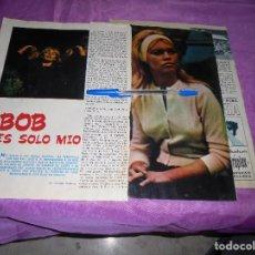 Coleccionismo de Revista Garbo: RECORTE DE PRENSA : BRIGITTE BARDOT, BODA SECRETA CON BOB ZAGURI. GARBO, MARZO 1965. Lote 118787375