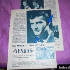 Coleccionismo de Revista Garbo: RECORTE DE PRENSA : MUERTE DE CHARLEY UNO DE LOS CREADORES DE LA YENKA. GARBO, ABRIL 1965. Lote 119183791