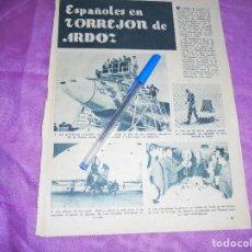 Coleccionismo de Revista Garbo: RECORTE PRENSA : ESPAÑOLES EN TORREJON DE ARDOZ. GARBO, ENERO 1961. Lote 119426207