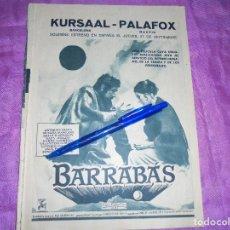 Coleccionismo de Revista Garbo: PUBLICIDAD DE LA PELICULA . BARRABAS . ANTHONY QUINN, SILVANA MANGANO. GARBO, SEPBRE 1962. Lote 120043531