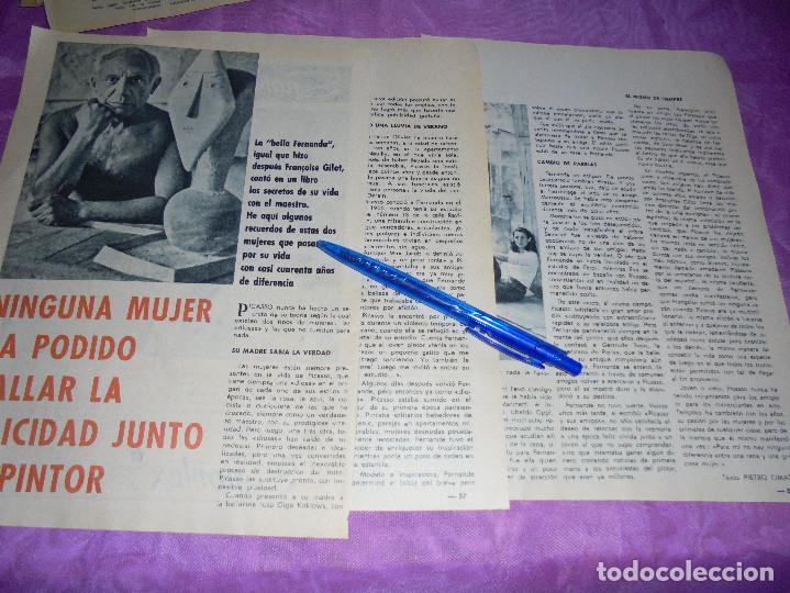 RECORTE PRENSA : NINGUNA MUJER HAYA LA FELICIDAD JUNTO A PICASSO . GARBO, MAYO 1966 (Coleccionismo - Revistas y Periódicos Modernos (a partir de 1.940) - Revista Garbo)