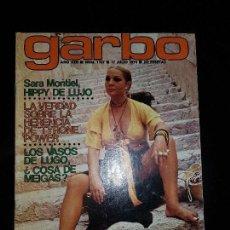 Coleccionismo de Revista Garbo: REVISTA GARBO Nº 1107 17 JULIO 1974. SARA MONTIEL, TYRONE POWER.. Lote 120220043