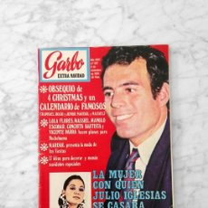 Coleccionismo de Revista Garbo: GARBO - 1970 - JULIO IGLESIAS, LOPEZ VAZQUEZ, MARISOL. SYLVIE VARTAN, RINGO STARR, ISABEL PREYSLER. Lote 120720211