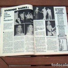 Coleccionismo de Revista Garbo: GARBO / MARISOL, ANTONIO GADES, BLANCA ESTRADA, LINDA CLIFFORD, SARA MONTIEL, LALY SOLDEVILA. Lote 123431255