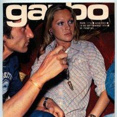 Coleccionismo de Revista Garbo: GARBO - 1974 - MARISOL Y ANTONIO GADES, TONY RONALD, MOCHI, ROCÍO JURADO, LOLA FLORES, JUAN PARDO. Lote 88832476