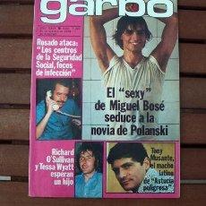 Coleccionismo de Revista Garbo: GARBO / MIGUEL BOSE, RICHARD O'SULLIVAN, ROCIO DURCAL, PARCHIS, GRETA GARBO, TONY MUSANTE, LIA UYA. Lote 124567443