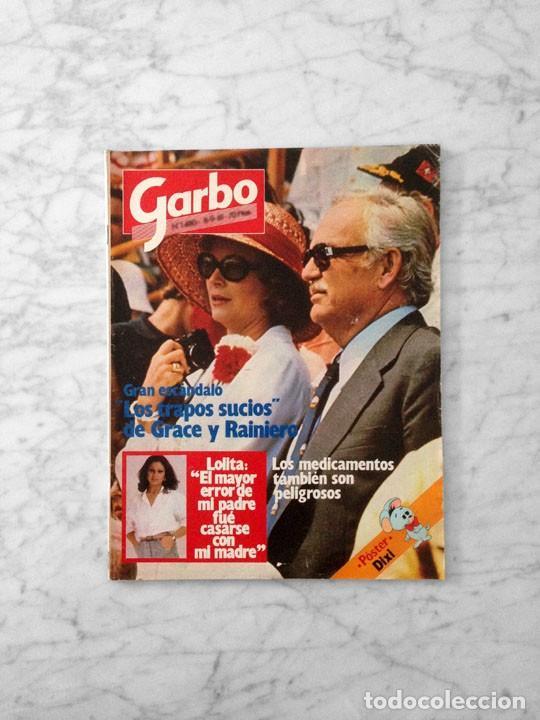 GARBO - 1981 - JACLYN SMITH, BRITT EKLAND, LOLITA, ROCIO DURCAL, CONCHA VELASCO, BUCKS FIZZ (Coleccionismo - Revistas y Periódicos Modernos (a partir de 1.940) - Revista Garbo)