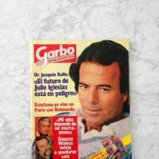 Coleccionismo de Revista Garbo: GARBO - 1982 - JULIO IGLESIAS, ESTEFANÍA, MARI TRINI, SARA MONTIEL, TATUM O'NEAL, DUSTIN HOFFMAN. Lote 125389907