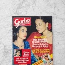 Coleccionismo de Revista Garbo: GARBO - 1983 - LAS VULPESS, PALOMA GOMEZ BORRERO, ROMINA POWER, BIBI ANDERSEN, PANTOJA, LOLA FORNER. Lote 125426087