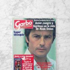 Coleccionismo de Revista Garbo: GARBO - 1983 - ALAIN DELON, MARIBEL MARTÍN, SARA MONTIEL, ROD STEWART, I. PANTOJA, ESTRELLITA CASTRO. Lote 125426687