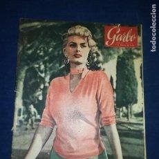 Coleccionismo de Revista Garbo: GARBO - NÚMERO 151 - AÑO 1956 - EN PORTADA SOFIA LOREN. Lote 125823683