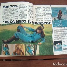 Coleccionismo de Revista Garbo: GARBO / MARI TRINI, ANTONIO GADES, SYLVIA KRISTEL, MARISOL, YOLANDA RIOS, JANE BIRKIN, ANGEL NIETO. Lote 126184039