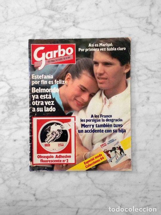 GARBO - 1984 - ESTEFANÍA, ROMINA POWER, JULIO JOSÉ IGLÉSIAS, MARISOL, CANETE (Coleccionismo - Revistas y Periódicos Modernos (a partir de 1.940) - Revista Garbo)