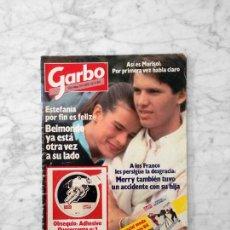 Coleccionismo de Revista Garbo: GARBO - 1984 - ESTEFANÍA, ROMINA POWER, JULIO JOSÉ IGLÉSIAS, MARISOL, CANETE. Lote 126438519
