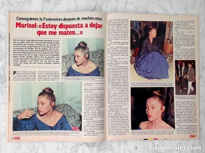 Coleccionismo de Revista Garbo: GARBO - 1984 - ESTEFANÍA, ROMINA POWER, JULIO JOSÉ IGLÉSIAS, MARISOL, CANETE - Foto 3 - 126438519