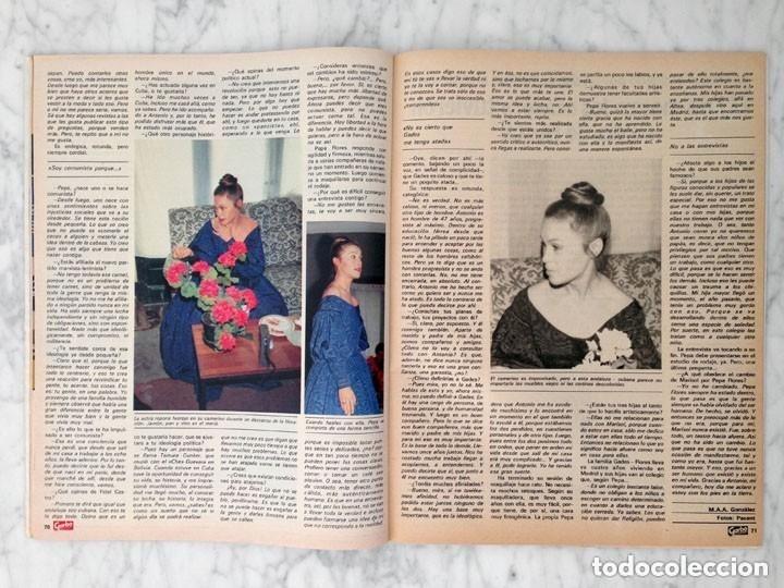 Coleccionismo de Revista Garbo: GARBO - 1984 - ESTEFANÍA, ROMINA POWER, JULIO JOSÉ IGLÉSIAS, MARISOL, CANETE - Foto 4 - 126438519