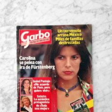 Coleccionismo de Revista Garbo: GARBO - 1985 - CAROLINA, ISABEL PREYSLER, I. PANTOJA, GEIR HALLGRIMSSON, RUIZ MATEOS, KARL LAGERFELD. Lote 43652126
