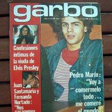 Coleccionismo de Revista Garbo: PEDRO MARIN, MISS MUNDO, WORLD, SHAUN CASSIDY, DALLAS SERIE, CARMEN CERVERA, PRISCILLA PRESLEY. Lote 127227543