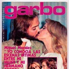 Coleccionismo de Revista Garbo: GARBO - 1976 - M.J. CANTUDO, PEPE RUBIO, CRISTINA GALBÓ, SARA MONTIEL, CAMILO SESTO, ROCÍO DÚRCAL. Lote 53368082
