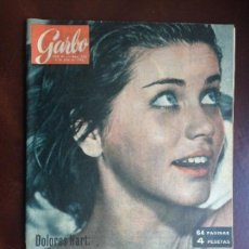 Coleccionismo de Revista Garbo: GARBO Nº 538 - 06/07/1963 - PORTADA DOLORES HART SE HA HECHO MONJA. Lote 128916875