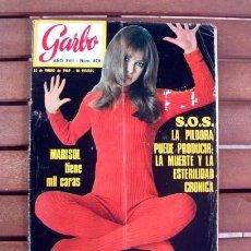 Coleccionismo de Revista Garbo: REVISTA GARBO / MARISOL, PEPA FLORES / 1969. Lote 129345307