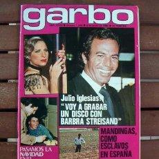 Coleccionismo de Revista Garbo: GARBO / PERET, ROMINA POWER, HOMBRE RICO HOMBRE POBRE, LOS AMAYA, JULIO IGLESIAS, ALISON ARNGRIM. Lote 129428759