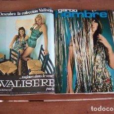 Coleccionismo de Revista Garbo: GARBO / CAROLINE MUNRO, KARINA, ANDRES DO BARRO, LA POLACA, PATTY SHEPARD, ANGEL TOMPKINS. Lote 130506130