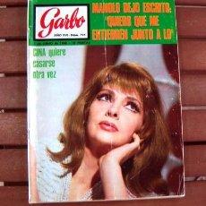 Coleccionismo de Revista Garbo: GARBO / LOS BRAVOS, FRANCOISE HARDY, GINA LOLLOBRIGIDA, PAQUITA RICO. Lote 130786392