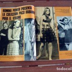 Coleccionismo de Revista Garbo: GARBO / ROMINA POWER, STEFANIA SANDRELLI, SACHA DISTEL, VICENTE PARRA, ADAMO, PETULA CLARK, NATALIE . Lote 130788160