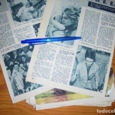 Coleccionismo de Revista Garbo: RECORTE PRENSA : NACIMIENTO DEL HIJO DE BRIGITTE BARDOT. GARBO, ENERO 1960. Lote 130837524