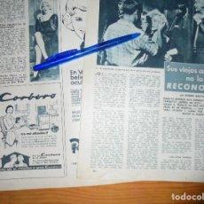 Coleccionismo de Revista Garbo: RECORTE PRENSA : ¿ESTA ENFERMA MARILYN MONROE ?. GARBO, NVBRE 1958. Lote 130837708