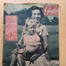 Coleccionismo de Revista Garbo: GARBO. NUM 194. DICIEMBRE DE 1956. Lote 130949312