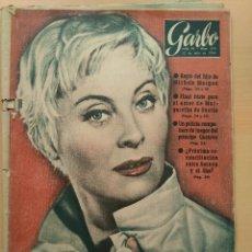 Coleccionismo de Revista Garbo: GARBO NUM 278. 1.958. MICHEL MORGAR. MARGARITA DE SUECIA. PRINCIPE GUSTAVO. SORAYA SHA.. Lote 131142060