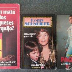 Coleccionismo de Revista Garbo: GRANDES VIDAS GARBO. Lote 131408806