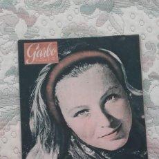 Coleccionismo de Revista Garbo: REVISTA GARBO Nº 366 (AÑO VIII, 19 DE MARZO DE 1960). Lote 132193426