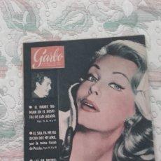 Coleccionismo de Revista Garbo: REVISTA GARBO Nº 361 (AÑO VIII, 13 DE FEBRERO DE 1960). Lote 132193470