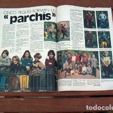 Coleccionismo de Revista Garbo: GARBO / CAMILO SESTO, PARCHIS, SOPHIA LOREN, LA CASA DE LA PRADERA, CONCHA VELASCO. Lote 132477646