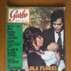 Coleccionismo de Revista Garbo - GARBO Nº 935** 1971*LOLA FLORES*ROCIO DURCAL Y JUNIOR*GIACOMO AGOSTINI*LUCIANA WOLFF*HELENIO HERRERA - 132830022