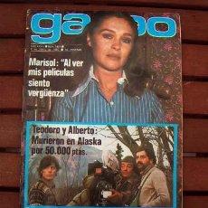 Coleccionismo de Revista Garbo: GARBO / MARISOL, FELIX RODRIGUEZ DE LA FUENTE, MARI TRINI, ISABEL PREYSLER, TRIGO LIMPIO. Lote 133833910