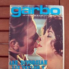 Coleccionismo de Revista Garbo: GARBO / ELIZABETH TAYLOR, RICHARD BURTON, HELMUT BERGER, MASSIEL, EMMA COHEN, EWA AULIN, HOMBRE. Lote 134184626