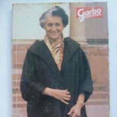 Coleccionismo de Revista Garbo: GARBO. GRANDES VIDAS. INDIRA GANDHI. TODA UNA VIDA POR INDIA.. Lote 134436582