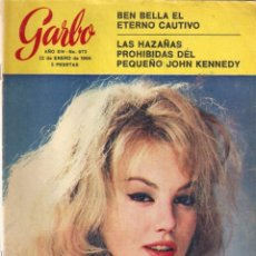 Coleccionismo de Revista Garbo: REVISTA GARBO Nº 672 BEN BELLA, MYLENE DEMONGEOT, CAROLINA DE MÓNACO, JOHN JOHN KENNEDY. Lote 134828410