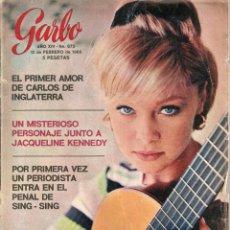 Coleccionismo de Revista Garbo: REVISTA GARBO Nº 675 MARISOL, PRINCIPE CARLOS, . Lote 134830642
