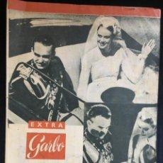 Coleccionismo de Revista Garbo: EXTRA GARBO DEL 23 ABRIL DE 1056. UNA SEMANA EN MONACO CON MOTIVO DE LA BODA DE GRACE KELLY. Lote 135688247