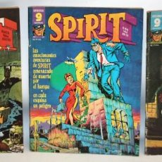 Coleccionismo de Revista Garbo: SPIRIT-NUMEROS.1-2 Y 3-EDITORIAL GARBO-1975.. Lote 136176742