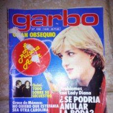 Coleccionismo de Revista Garbo: REVISTA GARBO 1981. Lote 136973040