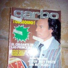 Coleccionismo de Revista Garbo: REVISTA GARBO 1981. Lote 137111614