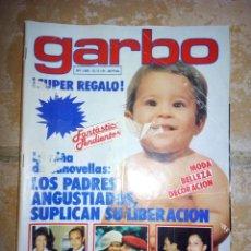 Coleccionismo de Revista Garbo: REVISTA GARBO MAYO 1981. Lote 137112128